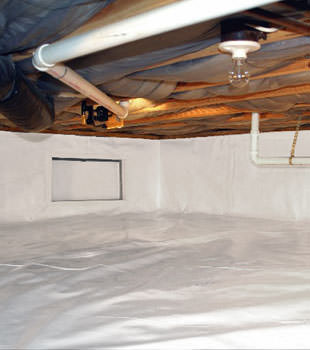 crawl space repair system in Somerville