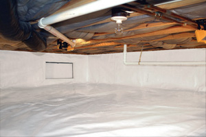 Crawl Space Repair After in Lowell