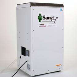 The SaniDry™ XP Basement Dehumidifier System