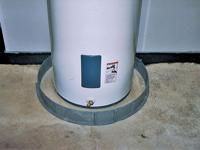 Hot Water Heater Flood Ring