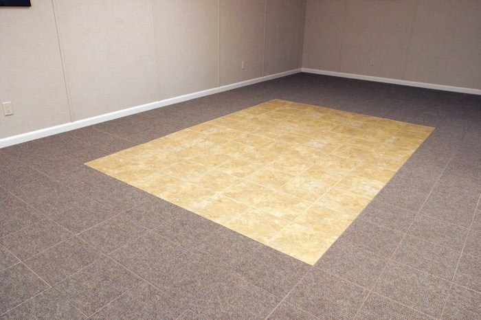 Basement Floor Tiles In Lowell Boston Cambridge