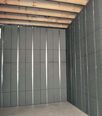 Thermal insulation panels for basement finishing in Cambridge, Massachusetts
